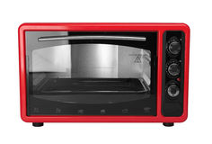 Oven. Kitchen oven isolated on a white background stock image
