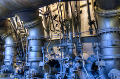 Oven for manufacturing of pig-iron, Ostrava, Czech Republic Royalty Free Stock Photo