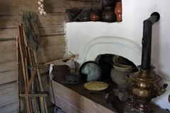 oven in peasant`s house Stock Images