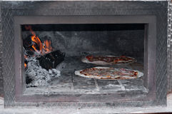 Oven pizzas Royalty Free Stock Image