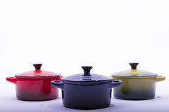 Oven pots Stock Images