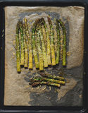 Oven roasted asparagus Royalty Free Stock Photography