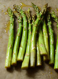 Oven roasted asparagus Stock Photography