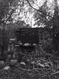 Oven Ruins Fotografie Stock Libere da Diritti