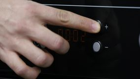 Oven Timer Seting archivi video