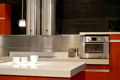 Oven and ventilation Stock Image