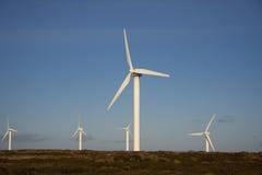 ovenden Yorkshire windfarm Obrazy Stock