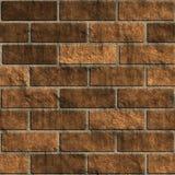 Ovenvaste bakstenen muur Stock Afbeeldingen