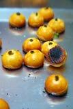 Over baked Nastar dough Stock Images