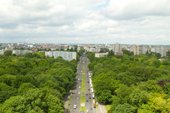 Over Berlin Royalty Free Stock Image