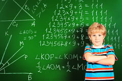 Over blackboard Royalty Free Stock Photos