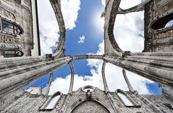 Over the Carmo Church Royalty Free Stock Photography