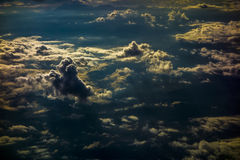 Over Cloud Scene Stock Images