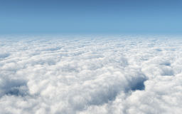 Over the clouds Royalty Free Stock Photography