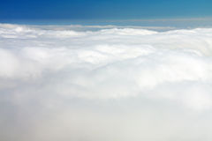 Over clouds Stock Photo