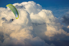Over clouds Royalty Free Stock Photos