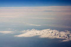 Over clouds Stock Photos