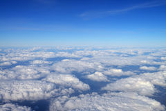 Over clouds Stock Image