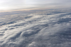 Over the clouds fantastic background Royalty Free Stock Photo