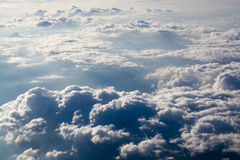 Over the Clouds Royalty Free Stock Photo