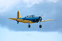 Over the clouds in a Valiant trainer Stock Photography