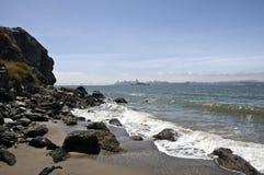Over de Baai van San Francicso royalty-vrije stock foto's