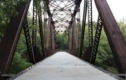 Over de brug Royalty-vrije Stock Afbeelding