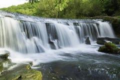 Over de Waterkering Royalty-vrije Stock Foto