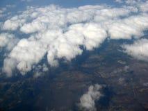Over de wolken Stock Afbeelding