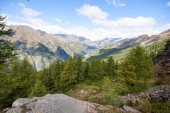 Over the dolomites Royalty Free Stock Photos