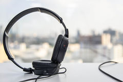Over Ear Headphones Royalty Free Stock Image