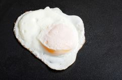 Over easy fried egg Stock Photos