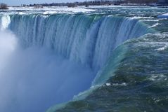 Over the Falls Royalty Free Stock Photography