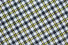 Over het algemeen textielpatroon Stock Foto