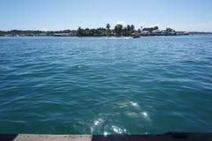Over het overzees in bocasstad stock fotografie
