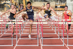 Over the Hurdles Stock Photography
