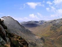 Over the Langstrath valley, Lake District Stock Photo