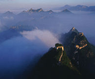 Over look. The Great Wall is the universal symbol of China Stock Photo
