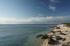 Island life on Okinawa 2. Over look on the West coast of Okinawa Japan Royalty Free Stock Image