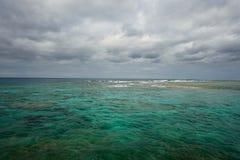 Island life on Okinawa 4. Over look on the West coast of Okinawa Japan Royalty Free Stock Photo