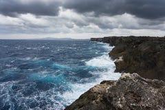 Island life on Okinawa 6. Over look on the West coast of Okinawa Japan Royalty Free Stock Photography