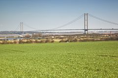 Over looking the Humber Estuary. Stock Image