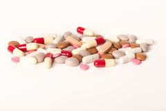 Over medication overmedication Royalty Free Stock Photography