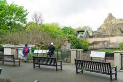 Over mening van een samenstelling bij de dierentuin van Londen Stock Fotografie