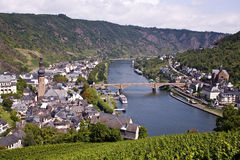 Over the Mosel Stock Photography