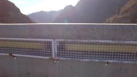 Over the mountains. Transfagarasan Landscape stock footage