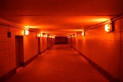 Over ondergronds kruisend de weg Royalty-vrije Stock Foto