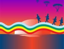 Over The Rainbow Stock Image