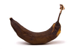 Over Ripe Banana Royalty Free Stock Photos