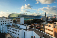 Over the roofs of Cologne Royalty Free Stock Image